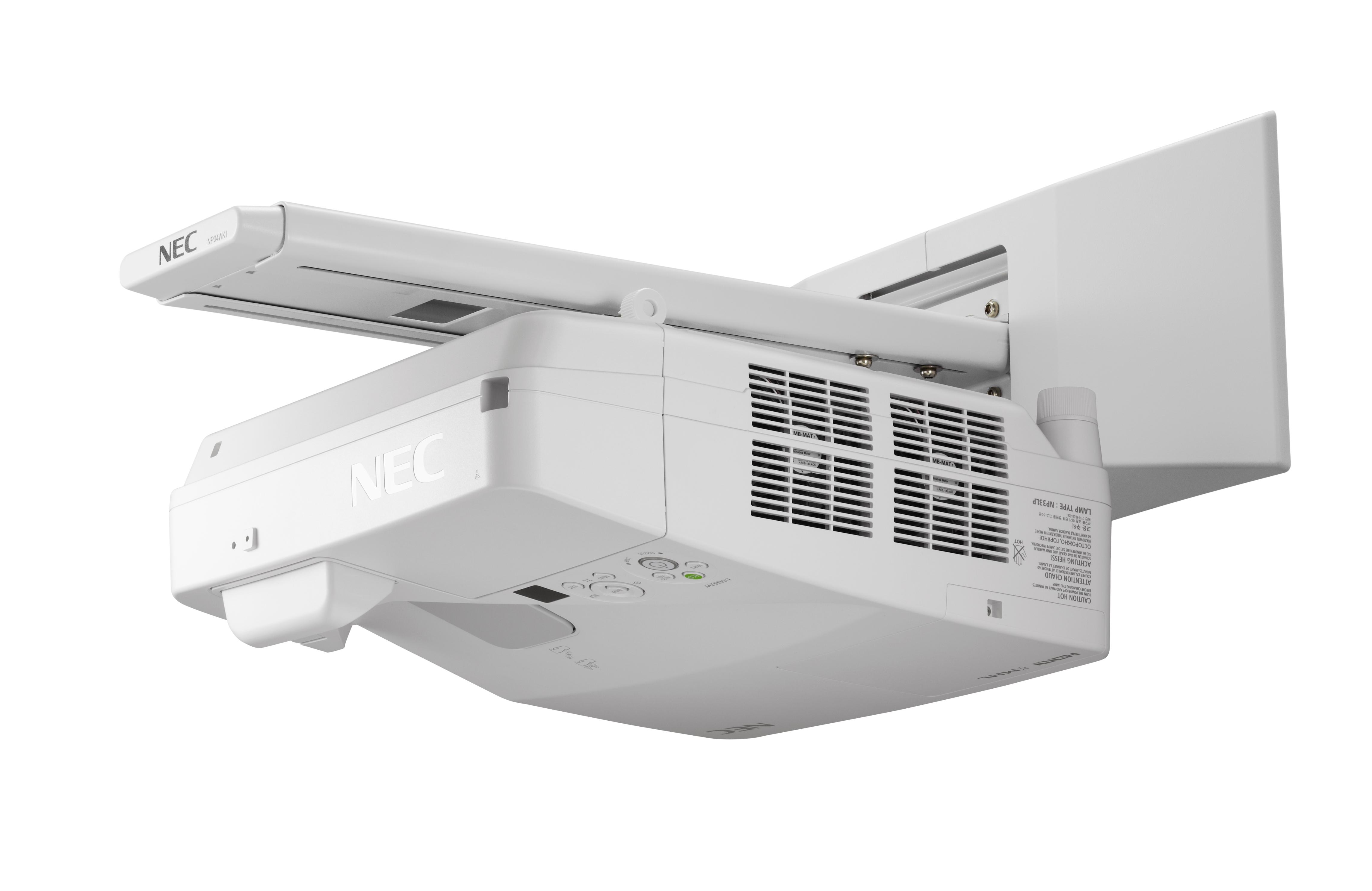 NEC UM352Wi Multi-Touch WXGA Projektor, interaktiv