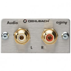 Oehlbach Audio Cinch L/R