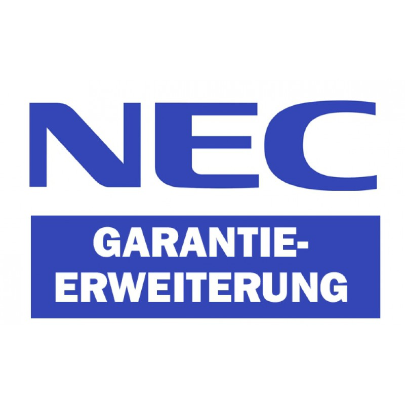 NEC Lampengarantieverlängerung
