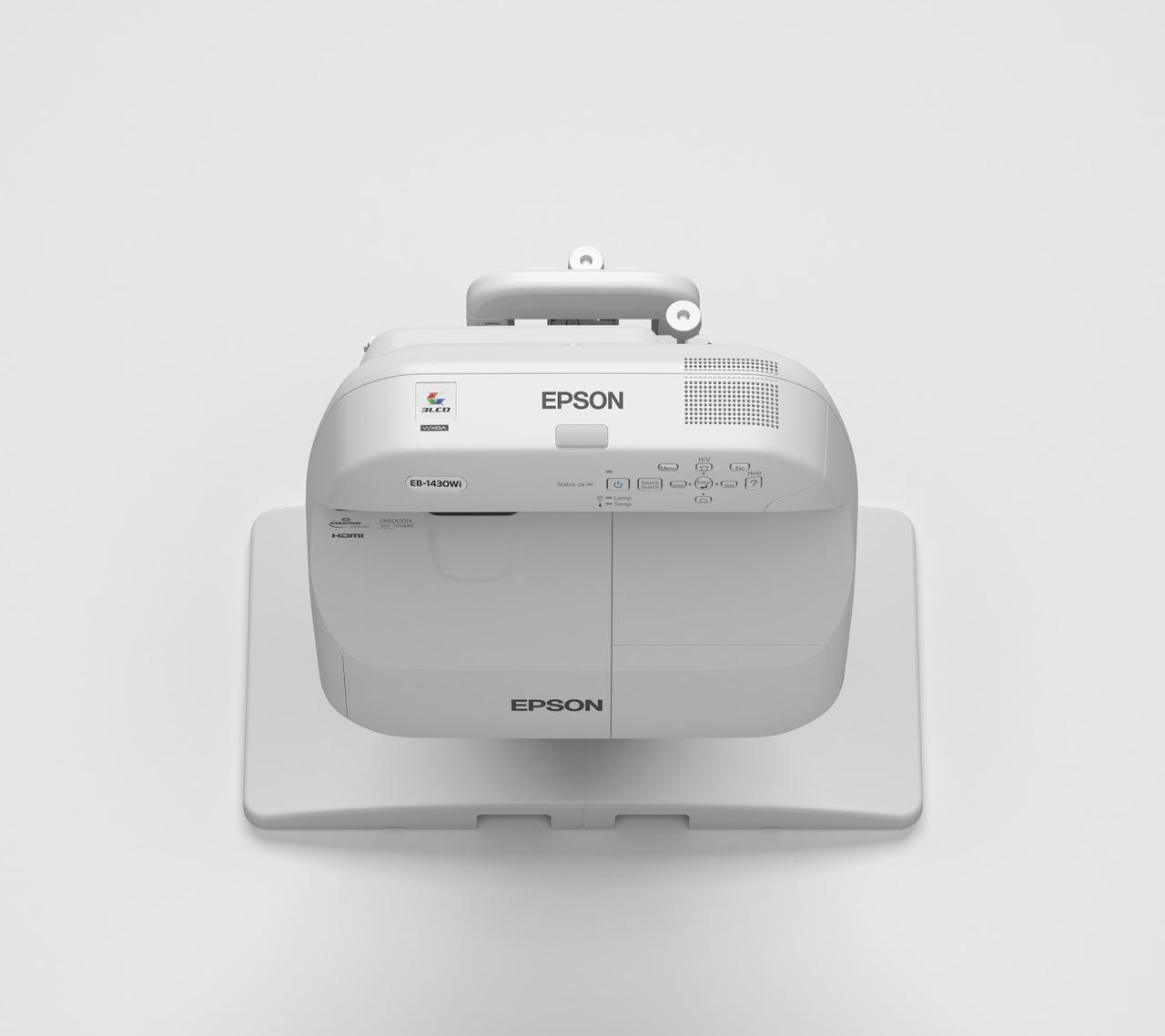 Epson EB-1430Wi WXGA Projektor, interaktiv