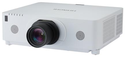 Hitachi CP-WX8750 ohne Optik WXGA Projektor
