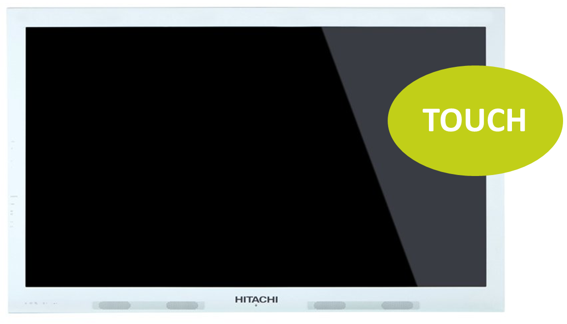 Hitachi HIT-FHD6516 65'' LED-Display, Touch