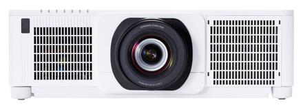 Hitachi CP-WU9100W ohne Optik WUXGA Projektor, weiß