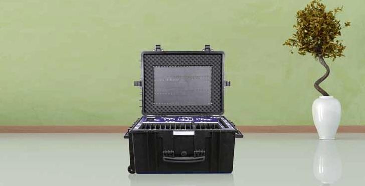 Leba NoteCase Stockholm Koffer für 15 iPads o. Tablets