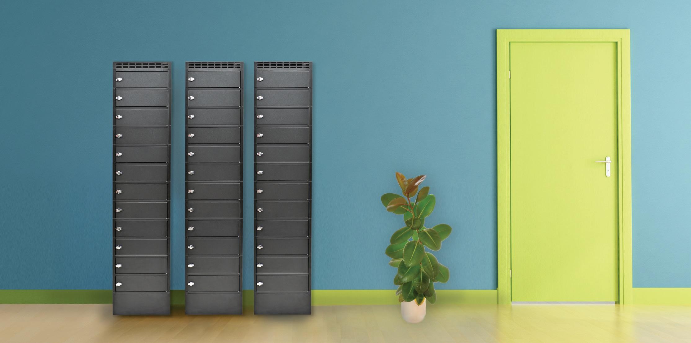 Leba NoteLocker 12 Floorstand mit Codeschloss