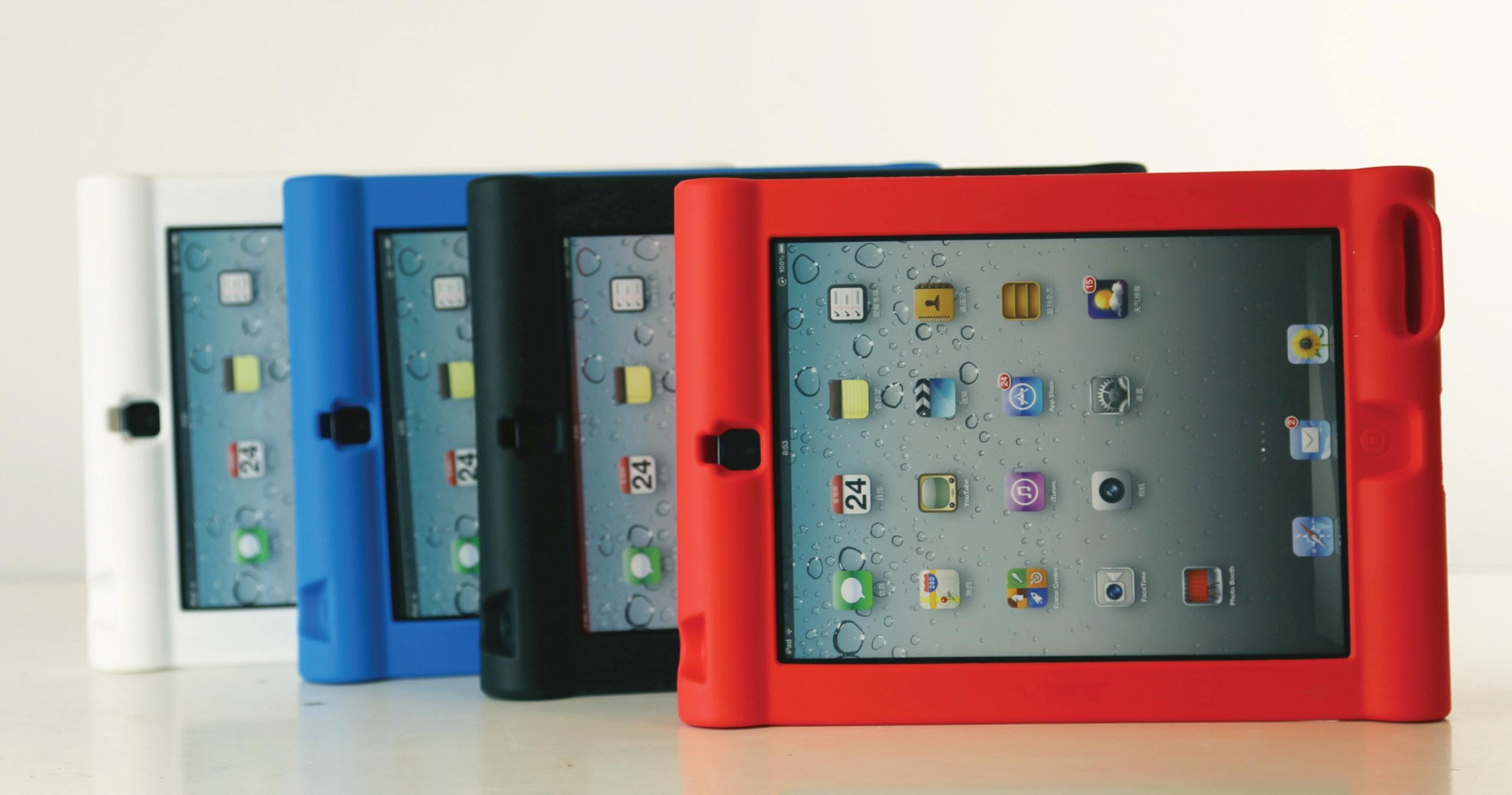 Leba Q1 ProtectorCase für iPad Air Rot