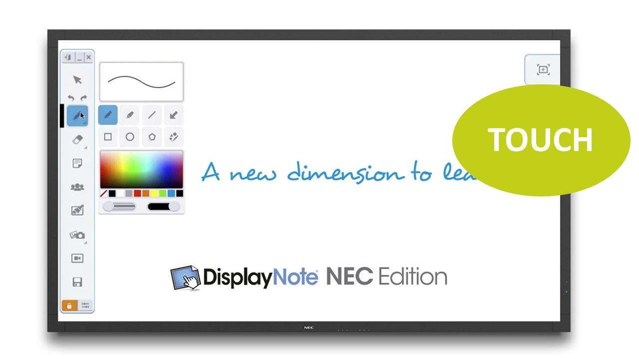 NEC MultiSync V801-TM 80'' LED-Display, Touch