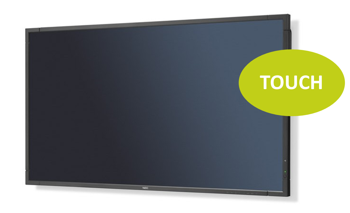 NEC MultiSync P553 DST 55'' LED-Display, Touch