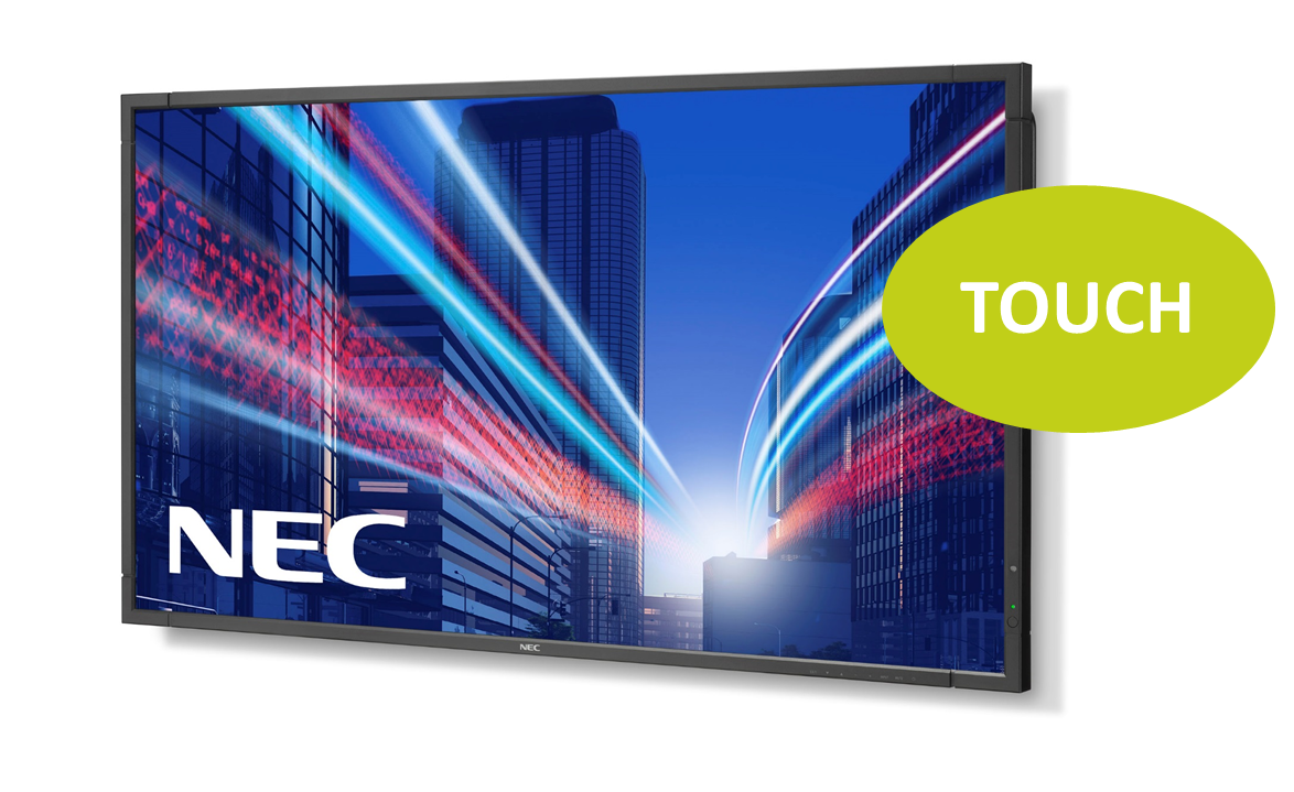 NEC MultiSync P463 SST 46'' LED-Display, Touch
