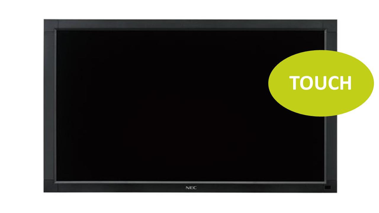 NEC MultiSync V652-TM 65 LED-Display, Touch