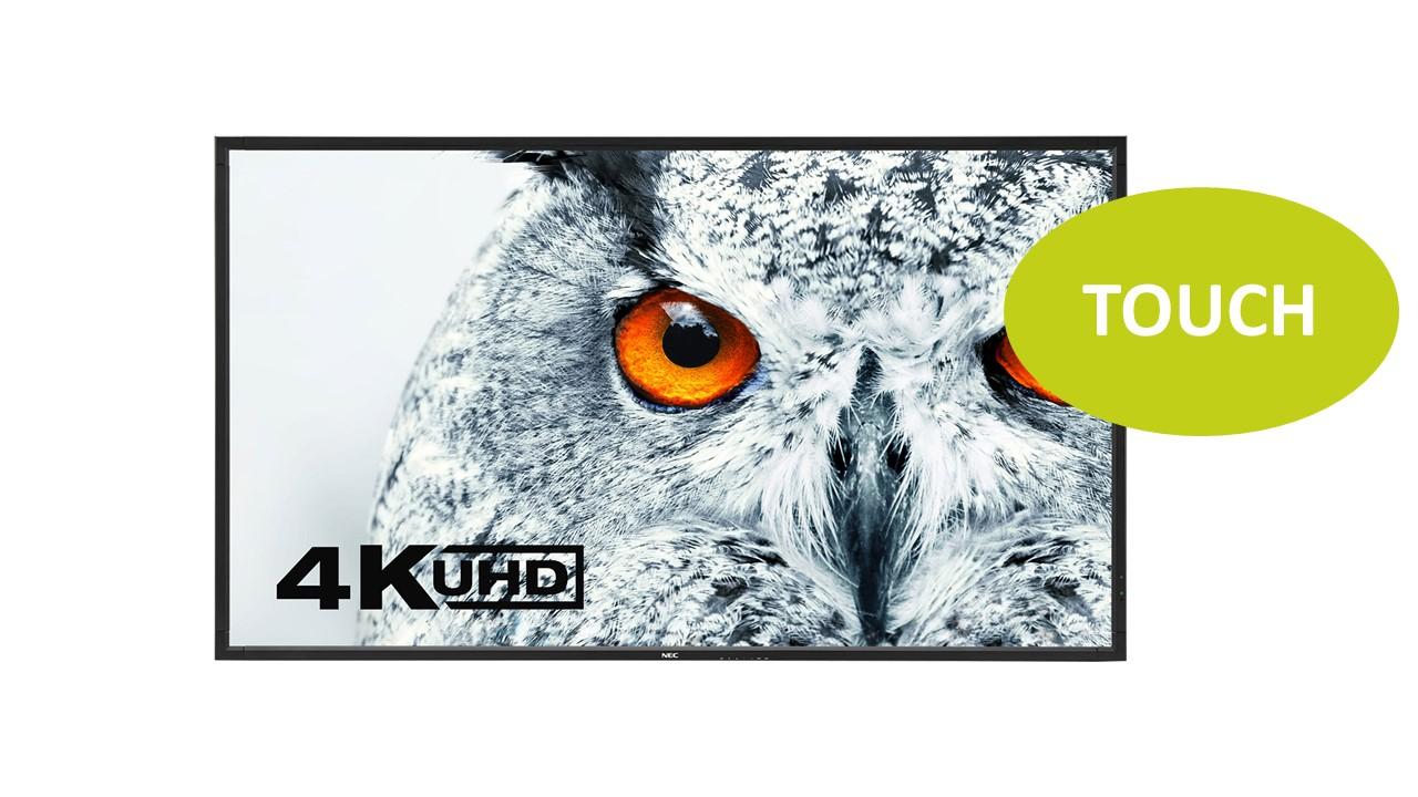 NEC MultiSync X651UHD-2 IGT 65'' UHD Touch Display