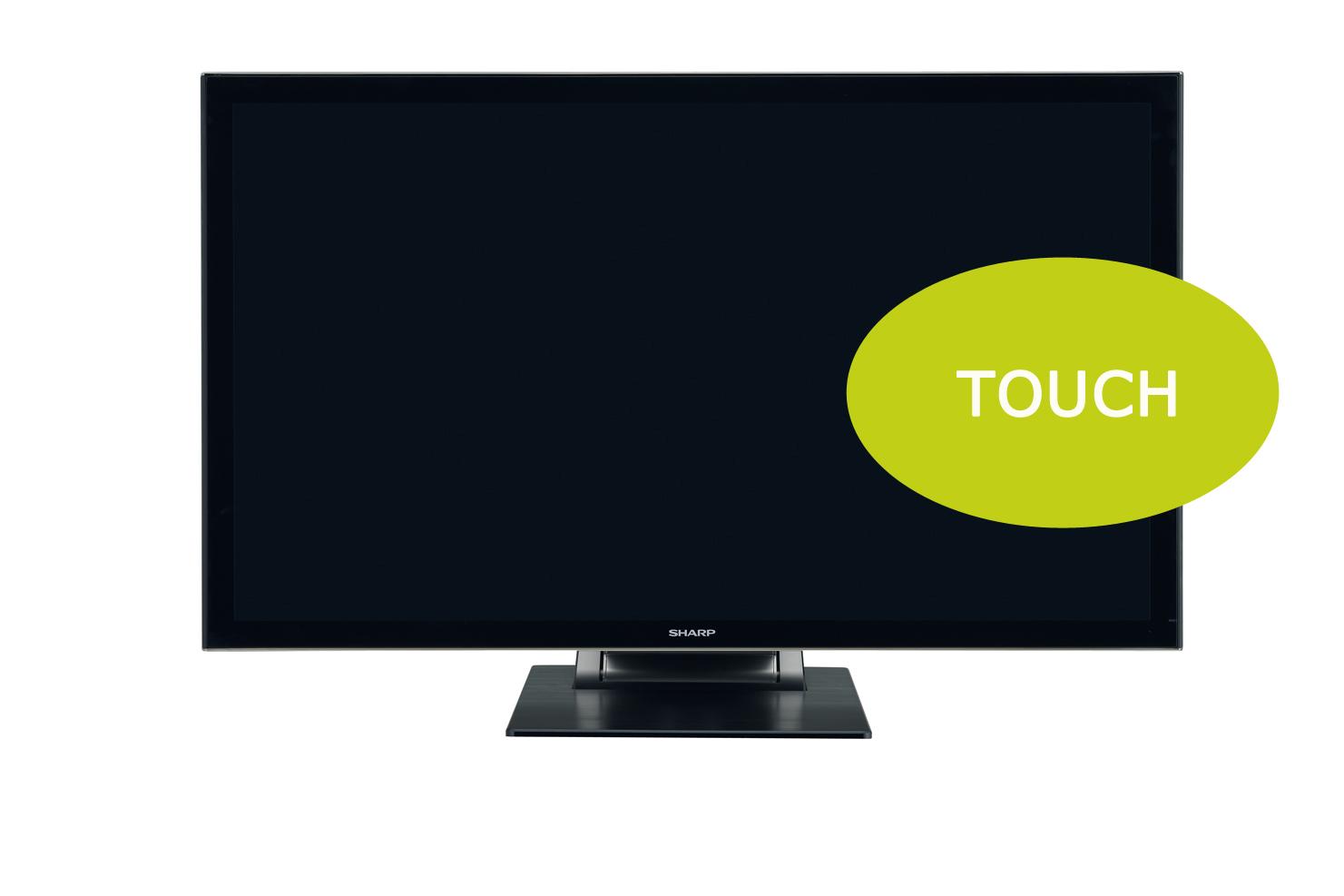 Sharp PN-K322BH 32'' LED-Display, UHD Touch