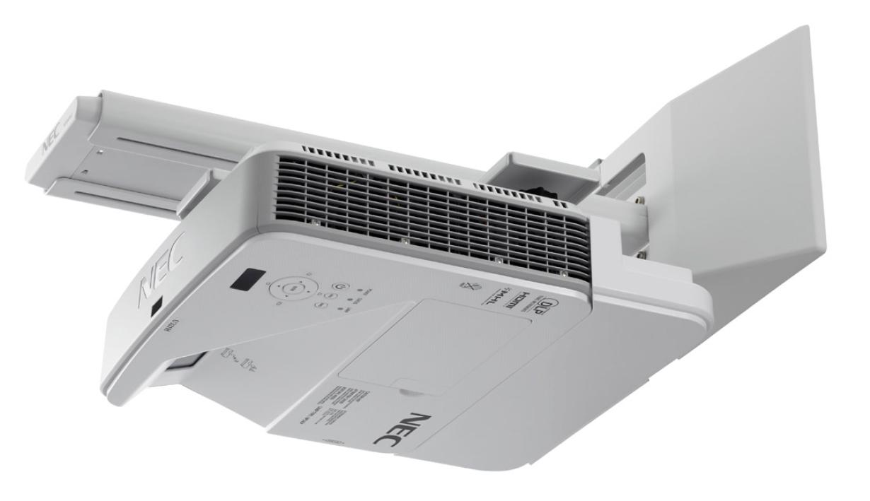 NEC U321Hi Multi-Touch Full-HD Projektor, interaktiv